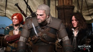Prepare to spend a lot of time watching cutscenes in The Witcher 3: Wild Hunt. Image courtesy of CD Projekt RED.
