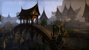 Kenarthi's Roost, one of the first areas available in the Aldmeri Dominion storyline. | Courtesy of Zenimax Media Inc.