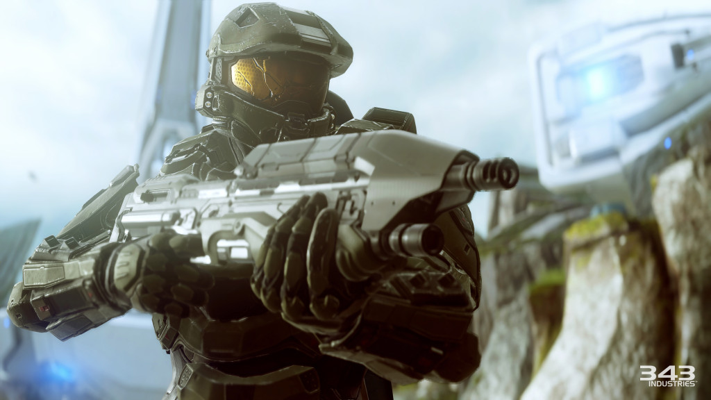 A renegade Master Chief and the return of Cortana can't salvage a haphazard story mode for Halo 5, but the multiplayer modes are excellent. | Image courtesy of 343 Industries
