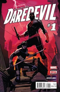 Daredevil returns with a killer costume and a new apprentice in this cover by Ron Garney. Image courtesy of PREVIEWSWorld.