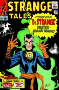 Doctor Strange originally appeared in Marvel's Strange Tales. Image courtesy of Marvel.