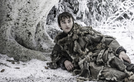 """Oh, I'm sorry. Was I supposed to be doing something helpful?"" - Bran definitely. Photo courtesy of Rotten Tomatoes"
